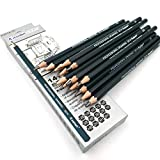Aavjo Graphite Artist Quality Fine Art Drawing & Sketching Pencils