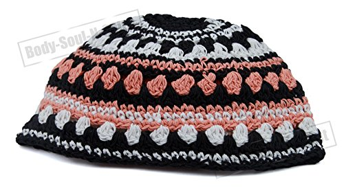 Kipà tejida Yarmulke judío tradicional cubrecabeza étnica gorra Mitzva de Israel