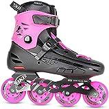Patines en línea, rodillos de alto rendimiento, con marcos de aluminio y rodamientos ABEC-7, patines para niñas, adolescentes y adultos jóvenes, rollerskates al aire libre para avanzados. Zapatos Pati