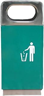 Poubelles intérieures/extérieures Poubelles en Acier Inoxydable Poubelles Catégorie Sanitation Poubelles de Rangement de G...