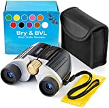 Kids Binoculars for Bird Watching – Spy Gear for Kids – Compact, Shockproof – 8X22 Binoculars for Kids, Waterproof – Best Toys for Boys, Adults – Holiday Toy List 2021 with High Resolution (Black)