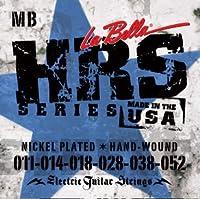 【国内正規品】La Bella ラベラ エレキギター弦 HRS Series Medium Blues (11-52)