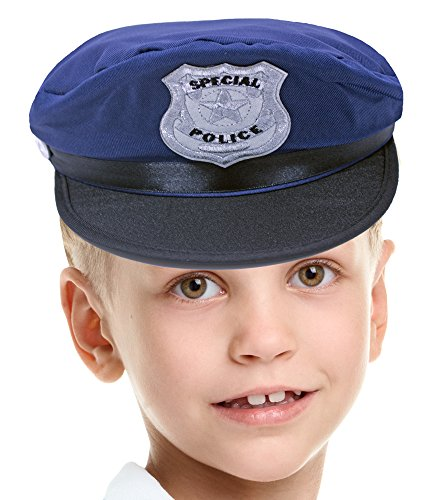 Kinder Special Police Mütze zum Polizisten Kostüm