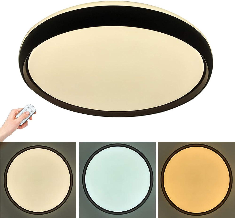 Addison 24W LED Deckenleuchte Dimmbar 2700-6500K Fernbedienung Rund Deckenlampe Lichtfarbe und Helligkeit einstellbar Esszimmer Deckenbeleuchtung Badezimmer Moderne Wandleuchte 40CM