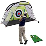 Explore Land Golf Practice Hitting Net Personal Driving Range Golf Training Aids for Backyard Chipping Swing