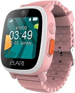 2G Reloj Inteligente Niño y Niña GPS Localizador y Llamadas Bidireccionales Audio, Chat de Voz, Botón SOS, Impermeable, Cá...