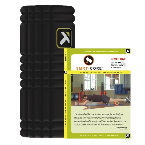 Best Review Of TriggerPoint GRID Foam Roller with SMRT-CORE Level 1 DVD