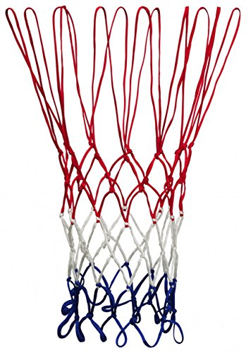 Pro Touch Basic Basketball-Netz, RED/White/Blue, 1size