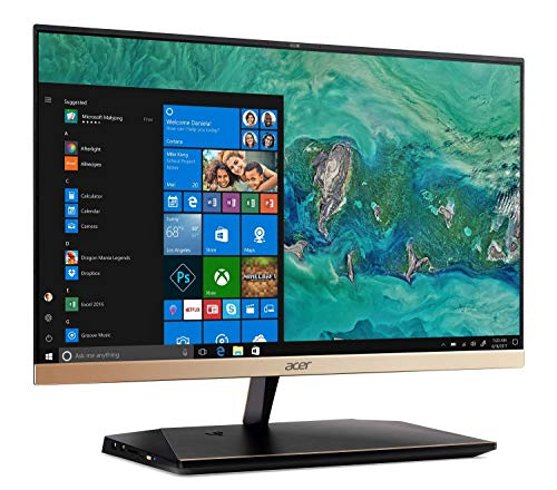 Acer Aspire S 24 AIO 24in Intel Core i5-8250U 1.6GHz 12GB 1TB HDD Windows 10 Home (Renewed)