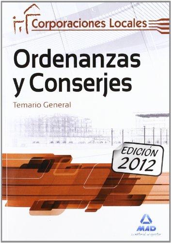 Temario - Ordenanzas Y Conserjes De Corporaciones Locales (Corporaciones Locales (est)