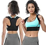 This back posture braces was made of soft but elastic material, which can provide great support without causing any additional discomfort. Featuring foam pads protect your skin against rubbing and keep the straps from digging into armpits, giving you...