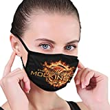 KDRose The Hunger Games Mockingjay Symbol Mask Dust Face Covers Washable Reusable Cycling Outdoor Hiking Mask Women Men Teen Face-Mask