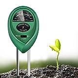 Toolazy Soil Test kit 3 in 1 Soil Moisture Light and pH Meter for Indoor or Outdoor Garden Care Perfect for Plants Fruits Flowers Vegetables Shrubs