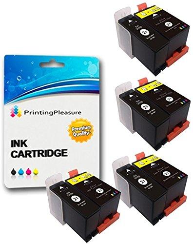 8 (4 SETS) Compatible Printer Ink Cartridges for Dell All-In-One P513W, P713W, V313, V313W, V513W, V515W, V51, V715W   Dell 21/22/23/24 (Y498D & Y499D)