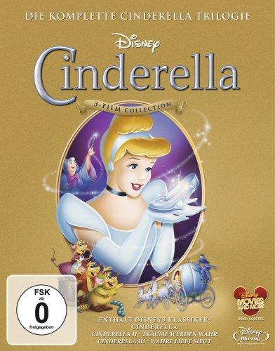 Cinderella 1-3 - Trilogie [Blu-ray]