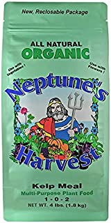 Neptune's Harvest Kelp Meal Multi-Purpose Plant Food 1-0-2, 4 lb