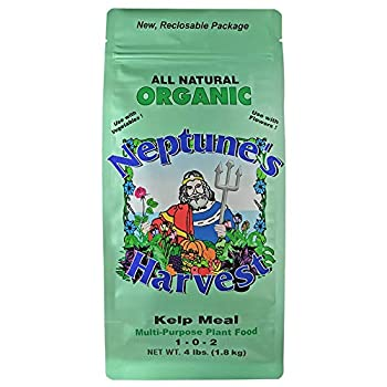 Neptune s Harvest Kelp Meal Multi-Purpose Plant Food 1-0-2 4 lb
