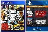 100,000 GTA Dollars [PS4 Download Code deutsches Konto] mit GTA V [PlayStation 4] Standard Edition