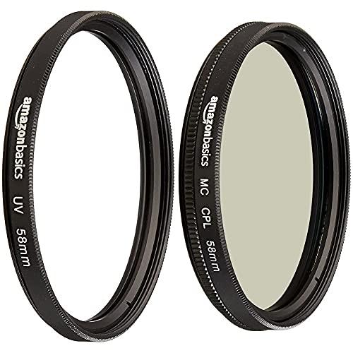 Basics, Polarizzatore circolare, 58mm & Basics Filtro di protezione UV 58mm