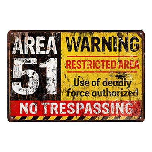 ZYZRYP Vintage Metal Tin Sign Home Bar Pub Decoration Board Warning Sign Wall Sticker Art Poster S