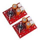 MERIGLARE 2X Módulo Divisor de Frecuencia de Audio de Altavoz Crossover 2 Vías, Placa de Audio