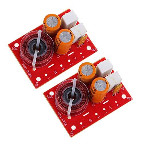 D DOLITY Système de Haut-Parleur Audio Crossover filtres Diviseur de fréquence Distributeur de Voiture Accessoire de décoration