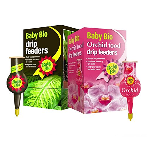 Baby Bio® Lot de 4 boîtes de nourriture liquide pour plantes de 40 ml - Alimentation facile pour plantes - 1 goutte-à-goutte dure jusqu'à 1 mois