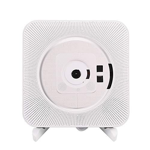 Draagbare cd-speler Bluetooth, wandmontage Bluetooth Stereo CD MP3-speler EU/UK-stekker(ME)