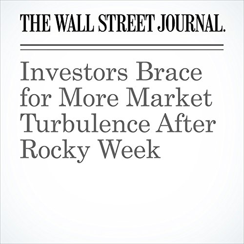 Investors Brace for More Market Turbulence After Rocky Week copertina