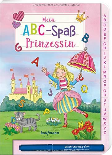 Mein ABC-Spaß Prinzessin (Übungen für die Vorschule: Wisch und Weg!)