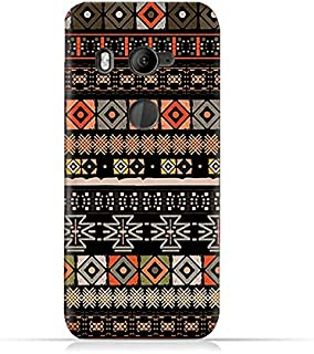 AMC Design TPU Silicone Protective Case with Boho Seamless Pattern Design for HTC U11 Eye - Multi Color