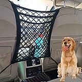 Tonruy Car Dog Barrier,Dog Car Net Barrier,Pet Barrier,Auto Safety Mesh Organizer,Safety Car Divider for Children and Pets,3 Layer