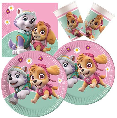 Procos 10133066 - Set di Accessori per Compleanno Bambini, Motivo: Skye e Everest, Multicolori