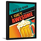 Chaka Chaundh – Bar Quotes Frame - Beer Quotes Frames - Bar Poster