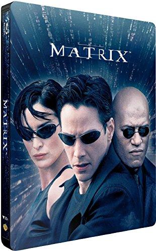 Matrix Steelbook, Blu-ray, EU-Import mit deutschem Ton, Uncut, Regionfree, geprägtes Steelbook mit Innendruck