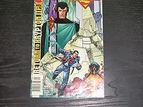 Superman #184 Return to Krypton II Pt 1 of 4 (Comic Book)