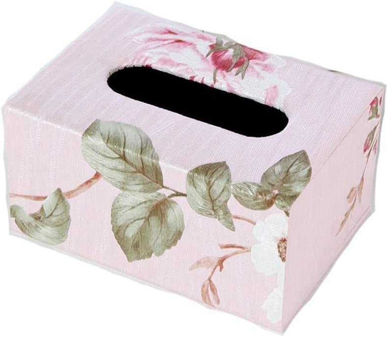 JYDQM Better-love Luxury Leather Rectangular C Tissue Box Direct store 4 years warranty Holder