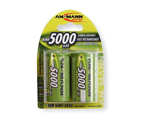 Ansmann -   Akku D 5000 mAh