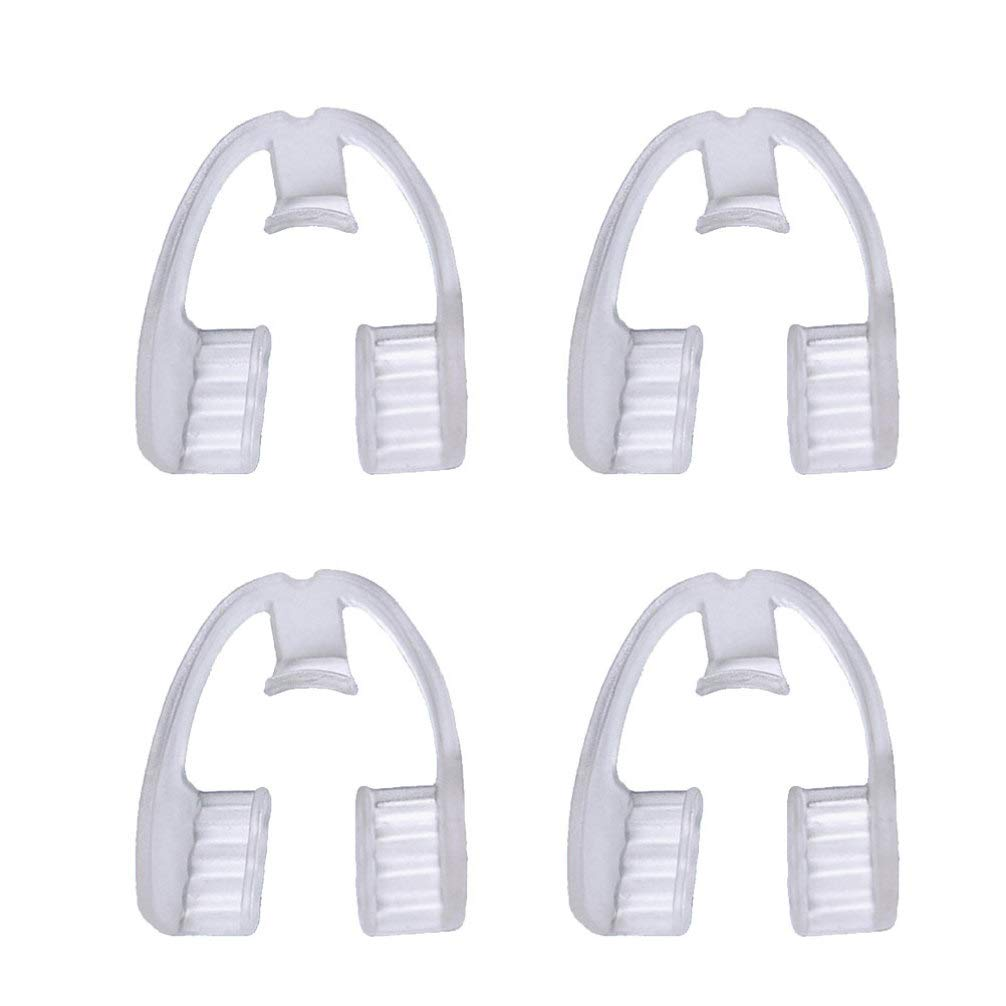 BESPORTBLE 4PCS Manufacturer OFFicial shop EVA Food Grade Rare Protecto Guard Mouth Dental Night