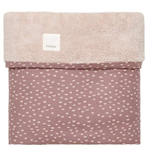 Koeka Kinderbettdecke Teddy Malin Plum/Grey Pink 100X150 Cm