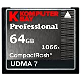 Komputerbay 64GB Professional Compact Flash card 1066X CF Write 155MB/s Read 160MB/s Extreme Speed UDMA 7 RAW [並行輸入品]