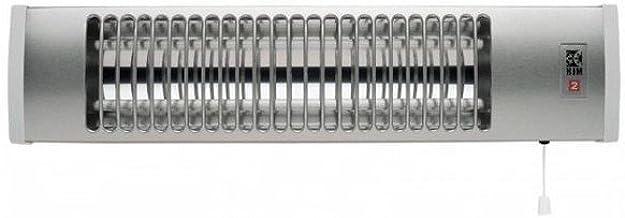 HJM 504 Estufa DE BAÑO 1.200 W-HJM-504, Aluminio