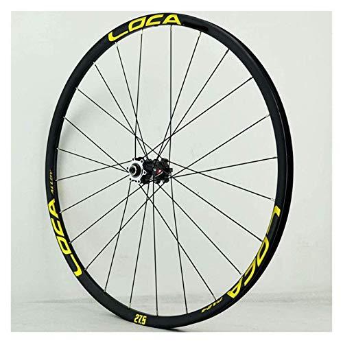 YQQQQ Juego de Ruedas MTB 26 27,5 Rueda de Bicicleta de Montaña con Freno de Disco de 29 Pulgadas, para Llanta de Cassette 8-12 S (Color : 29 Inch)