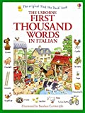 First Thousand Words In Italian - Usborne New Edition (Paperback)