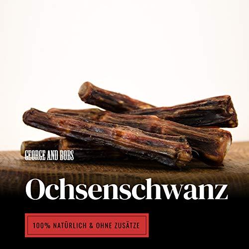 George & Bobs Ochsenschwanz - 1000g - Bester Schwanz von Ochsen und Rind - Extra Hart - Wie...