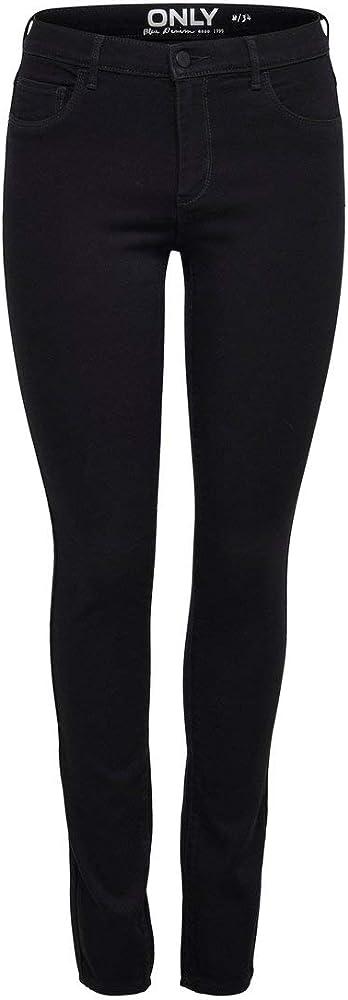 Only, jeans skinny per donna,53% viscosa, 29% cotone, 17% poliestere, 1% elastan 15129693