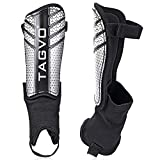 TAGVO Soccer Shin Guards, Kids Soccer Equipment with Ankle Sleeves Protection, Youth Sizes