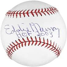 Eddie Murray Autographed MLB Baseball w/