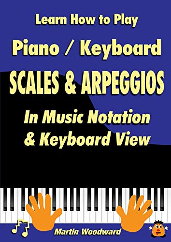 Learn How to Play Piano / Keyboard SCALES & ARPEGGIOS: In Music Notation & Keyboard View