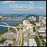 Arkansas Wall Calendar 2021: Great gifts ideas for teacher and for special holidays ( Christmas, Halloween and Thanksgiving) birthdays party Birthdays